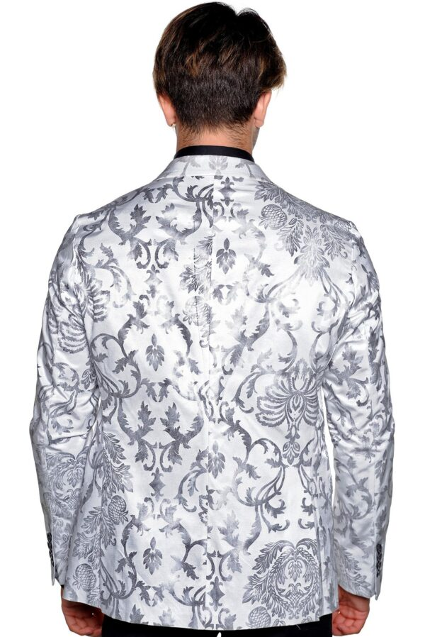 Mens white formal jacket
